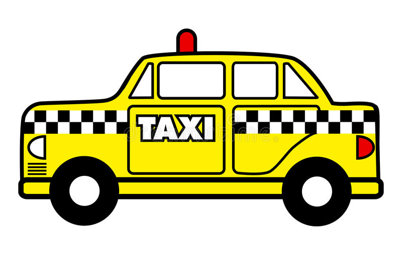 Yellow Taxi Cab 2 Airport