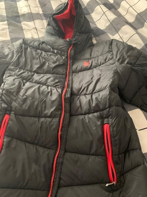 Spyder men Jacket with hood - new